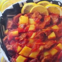 Receta de curry al carnero