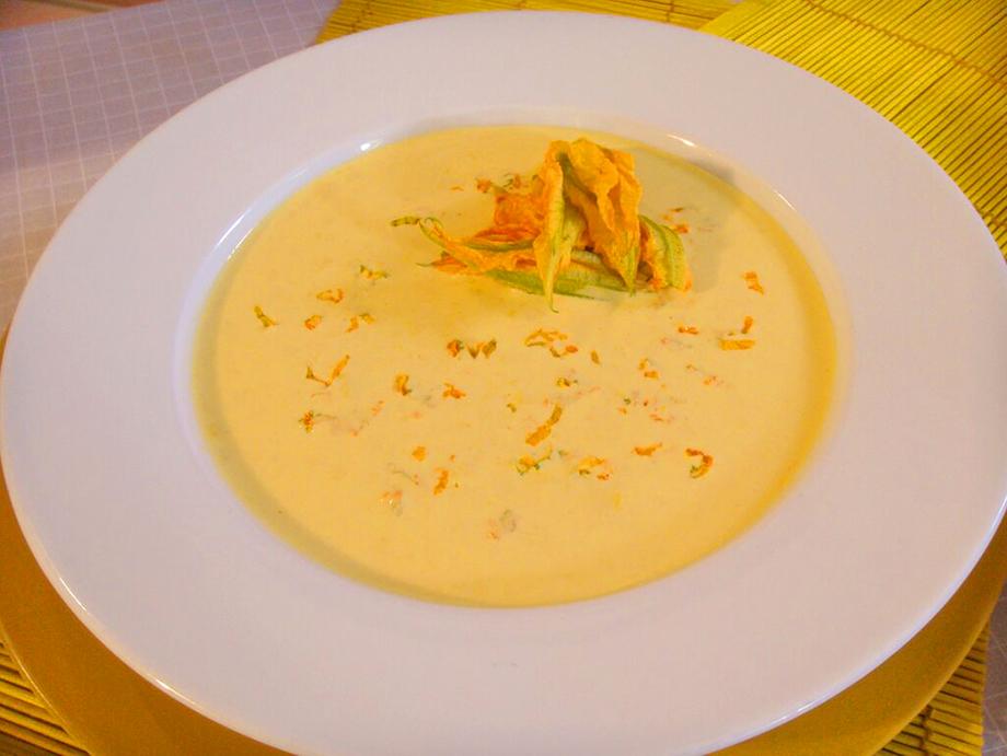 Receta de Sopa de calabaza