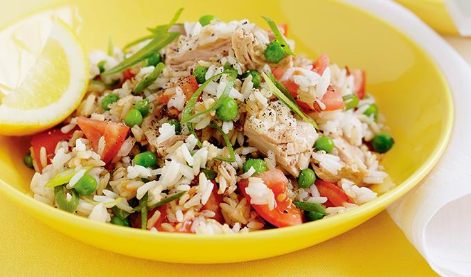 Atún con arroz