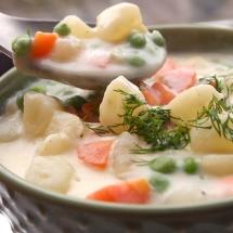 receta de crema de verduras