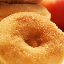 receta de Donitas de manzana