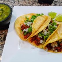 Receta de Tacos con salsa verde