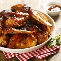 Receta de Alitas de pollo con Salsa BBQ