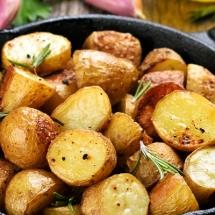 receta de papas con ajo