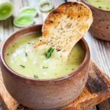 receta de Sopa de espinacas