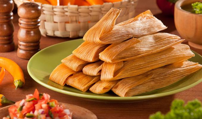 Receta de Tamales con vegetales