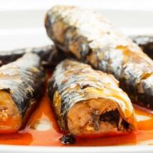 Receta de Sardinas en su salsa